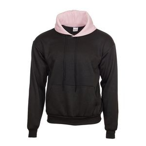 Hooded Sweatshirt with Contrast Color Hood